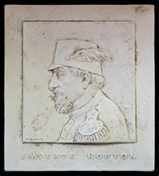 Emperor Norton ceramic tile