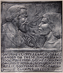 The Drake plaque