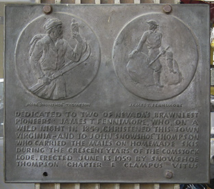 The Thompson/Fennimore plaque