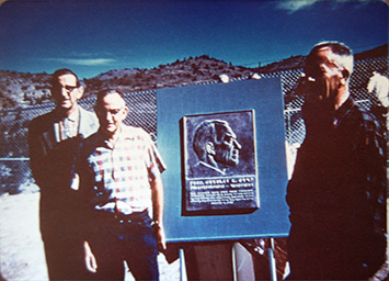 Camp plaque dedication 1961
