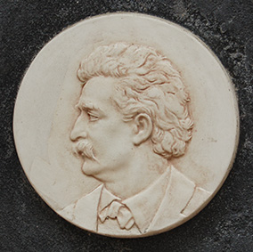 Ceramic version of Huff's Twain