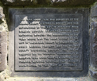 The text-only plaque