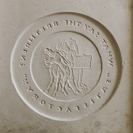 'What say the brethren?' plaque mold