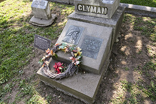 The Clyman plaque is in good condition