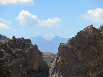 Telescope Peak as seen from Echo Canyon
