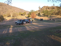 Preparing to leave Los Gatos Creek County Park