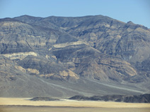 Zooming in on the rocks of the Panamint Range