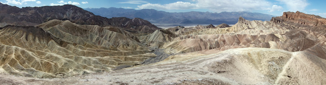 The view from Zabriskie Point