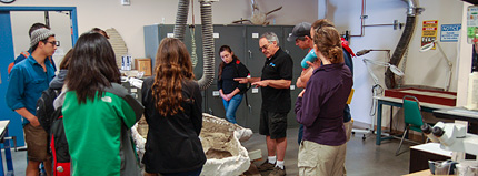 Jere describes a fossil whale that is being prepared