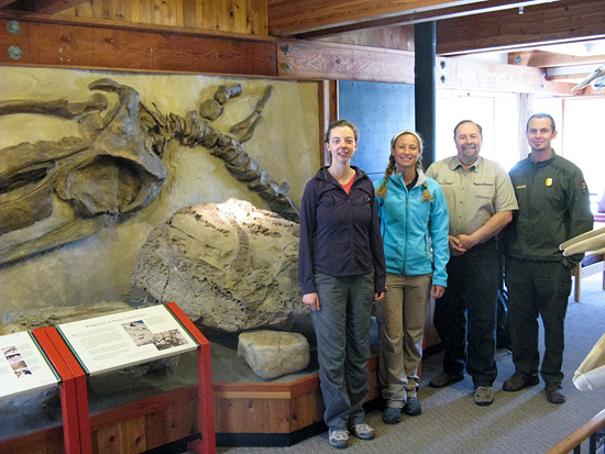 Pt. Reyes fossil monitoring group