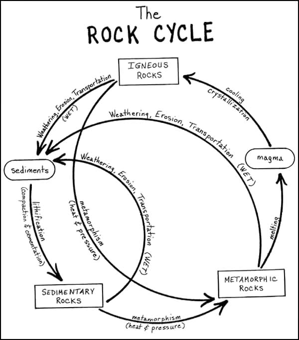The Rock Cycle Figure 2