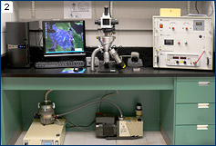 A CL microscope setup at the University of Toronto