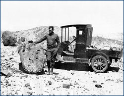 Charles Camp in  Petrified Forest National Monument, 1921