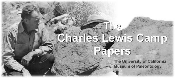 The Charles Lewis Camp Papers