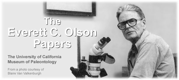 The Everett C. Olson  Papers