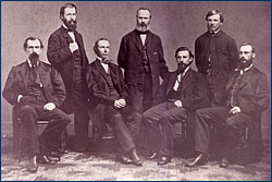 Geological Survey group photo, 1863