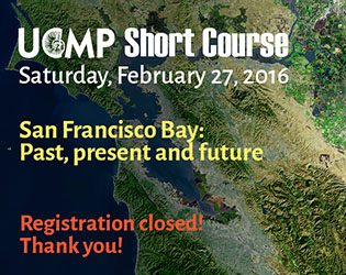 Save the Date: UCMP Short Course, Saturday, Feb 27