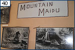 A display on the Maidu Indians