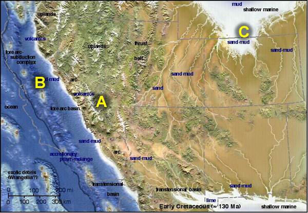 Geologic history of the northern Sierra Nevada
