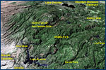 Map of the Feather River drainage