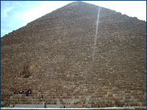 The Cheops Pyramid is the only remaining wonder of the original Seven Wonders of the World &#151; and it's made of <i>Nummulites</i>!