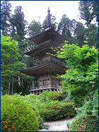One of the temples that Jann visited on her bike ride