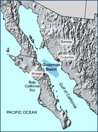 The Guaymas Basin in the Gulf of California