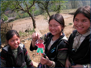 With Hmong girls