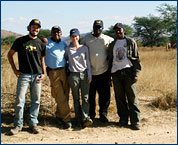 Leslea Hlusko and her field crew