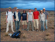 Ghost Ranch, New Mexico field crew