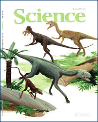 Randy Irmis, Kevin Padian, and colleagues published a paper that made the cover of the July 20, 2007 issue of <i>Science</i>