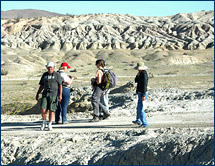 Jere Lipps and crew set out to explore the deposits laid down by the Pleistocene Lake Manix
