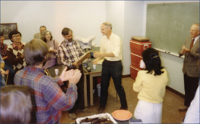 UCMP awards party, circa 1986