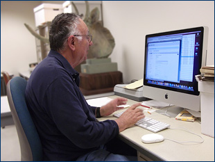 Doug Clarke creates online finding aids