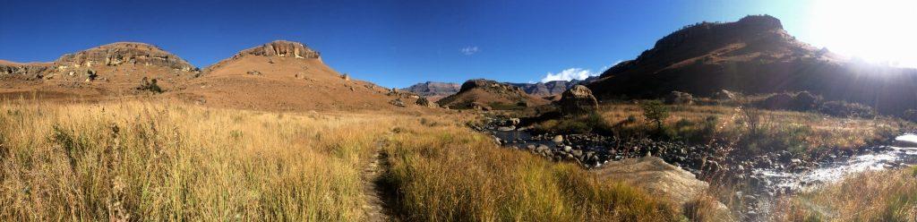 Giant's Castle reserve in the Drakensberg. Photo by Tesla Monson
